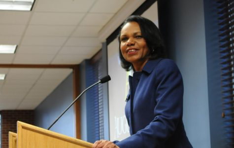 Condoleezza Rice speaks at Augustana University