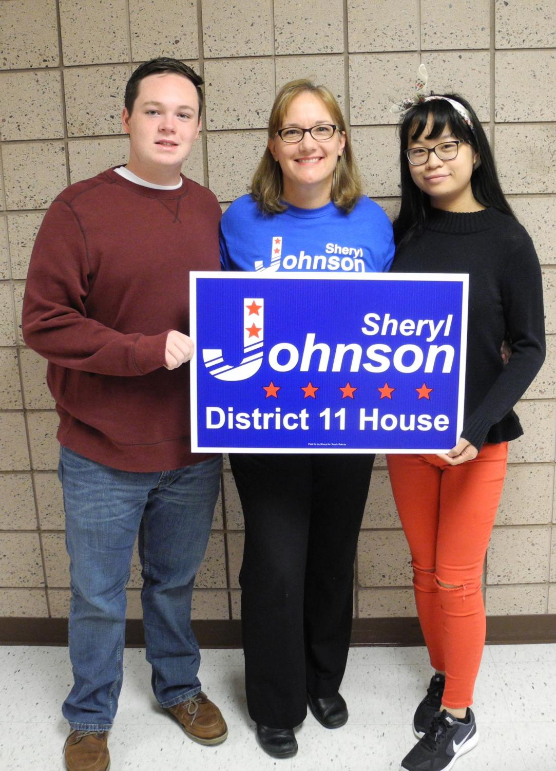 (From left to right) Jack Brenneman, Sheryl Johnson, Engie Wong