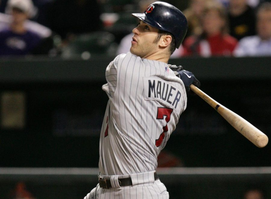 Joe+Mauer+plays+final+game+with+the+Twins