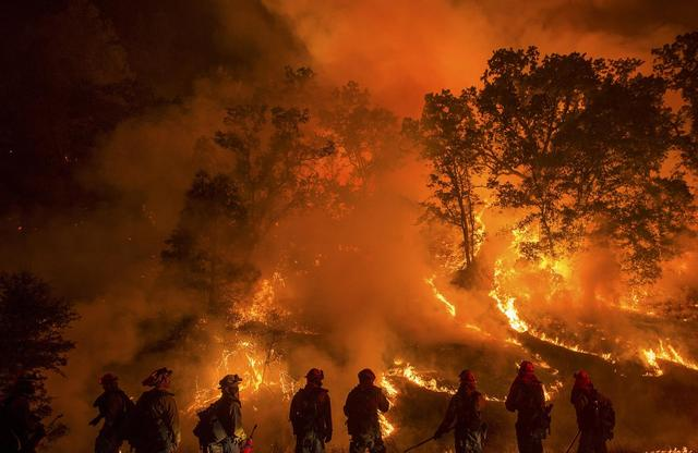 Burning and devastation continues in California