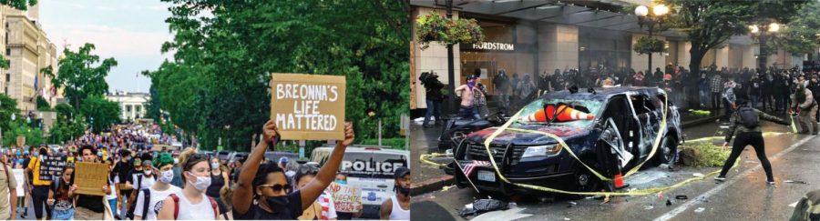 Protesting Vs Rioting