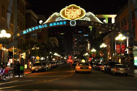A Mass Shooting in Gaslamp Quarter of San Diego